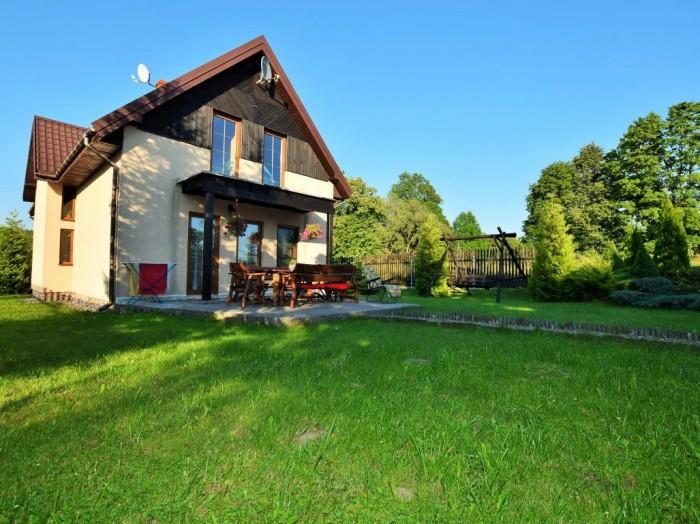 Dom wolnostojący o powierzchni użytkowej 159 m2, okolice jeziora Szelment, gm. Jeleniewo.