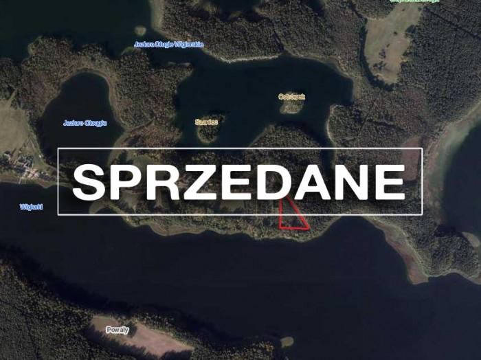 Działka rolna zalesiona 1,32ha położona w Gawrych Rudzie, blisko jeziora Wigry.