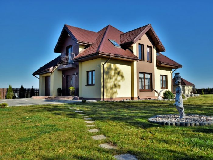 Styl i klasa, niebanalny dom 140m2+piwnica 100m2, tylko 4km od Suwałk.