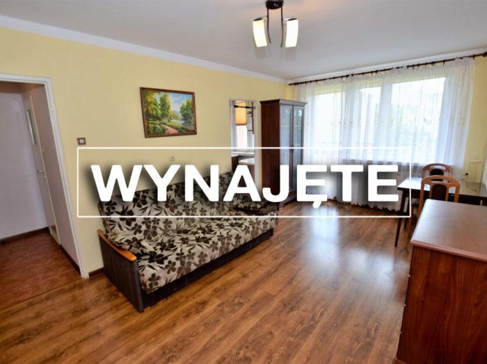 Umeblowane mieszkanie 1-pokojowe 28m2, II piętro z windą.