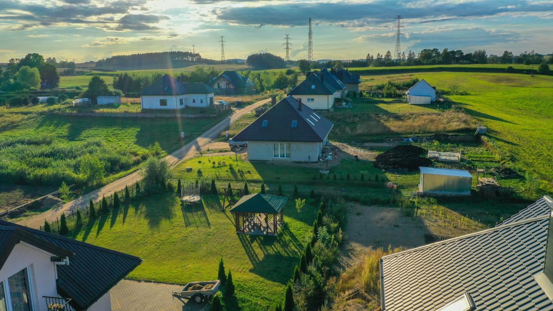 Działka budowlana 1783m2, Żubryn, 6km od Suwałk.