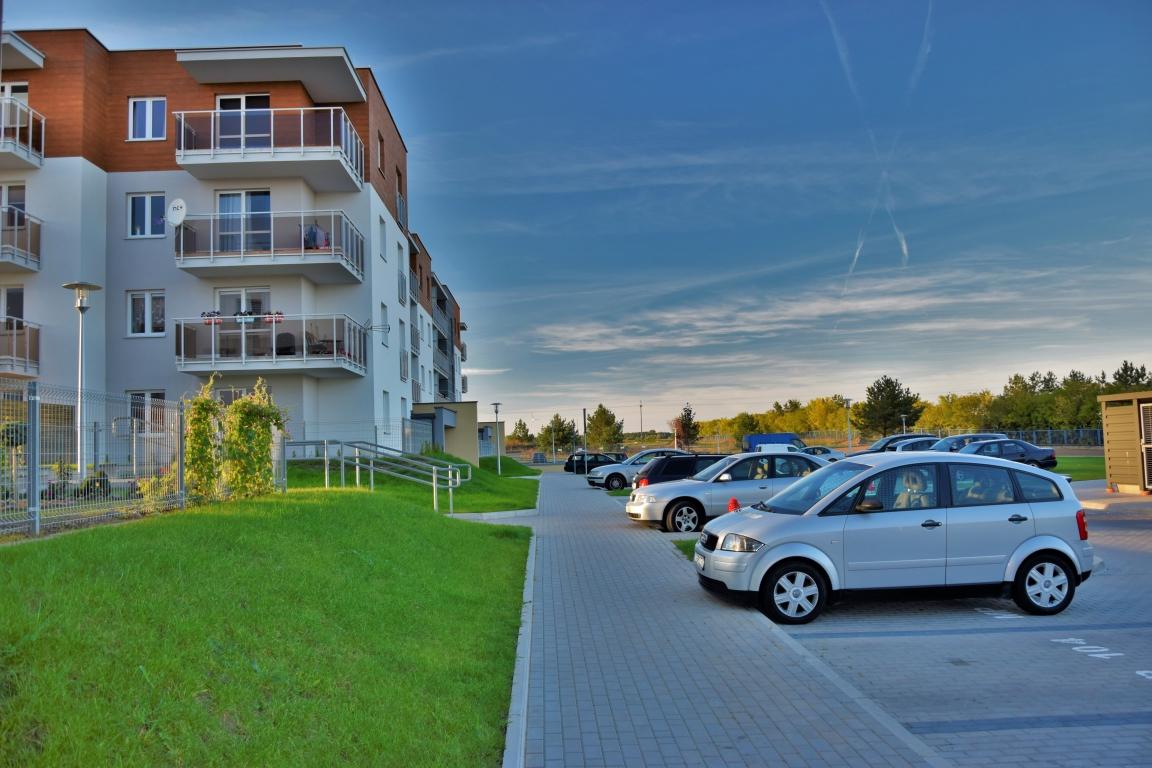 Nowe budownictwo, 70m2, 3 pokoje, I piętro, Zielone Osiedle.