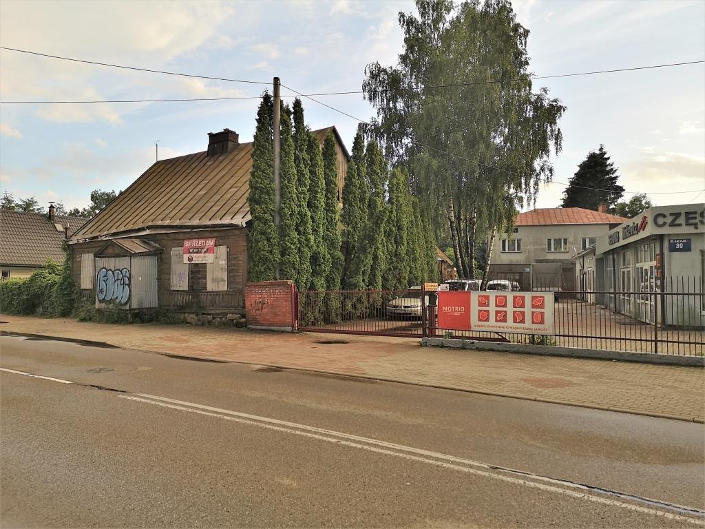 Działka budowlana w mieście 2249m2 Czarna Hańcza.