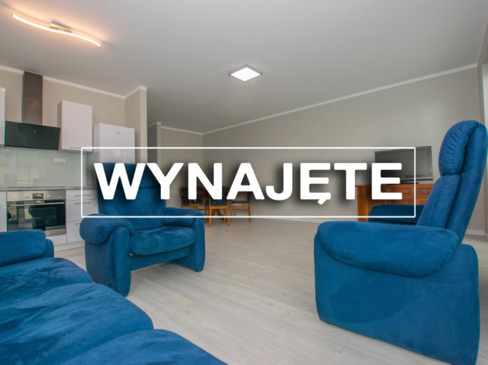 WYNAJEM. Nowe mieszkanie 64m2, I piętro, centrum miasta.