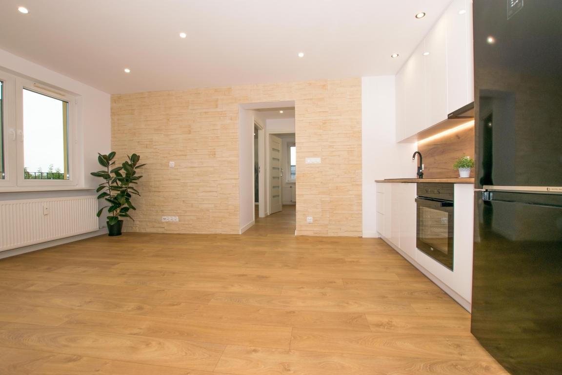 Atrakcyjne mieszkanie 3-pokojowe 48m2 w samym sercu miasta.
