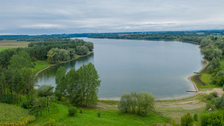 Działka budowlana 7764m2, Osowa, jezioro Okmin.