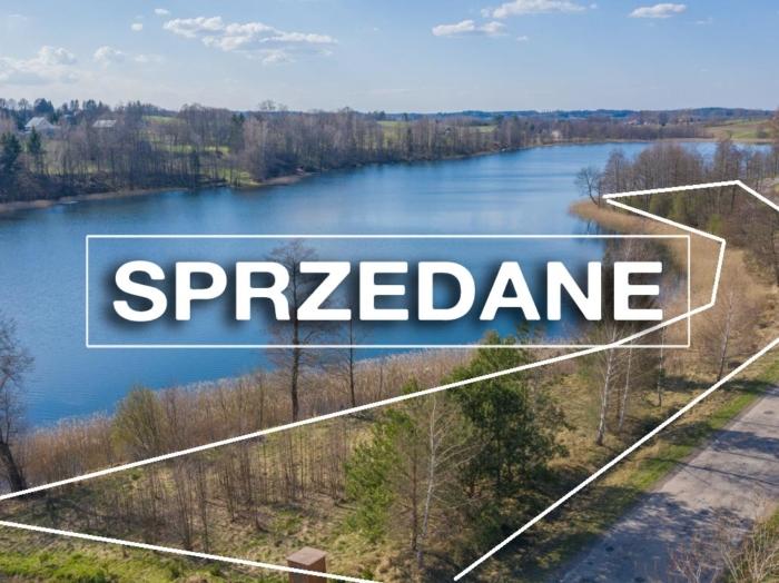 Działka rolna 3681m2 z dostępem do jeziora Przystajne.
