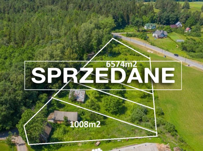 Działka budowlana 1008m2 Leszczewek, blisko jezior.