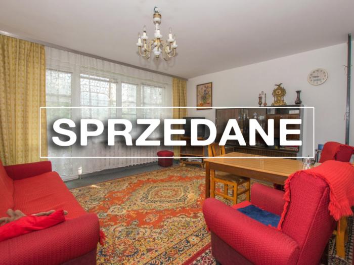 Mieszkanie 3-pokojowe 58m2 na parterze, ul. Kowalskiego.